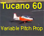 Tucano 60 with variable pitch prop video