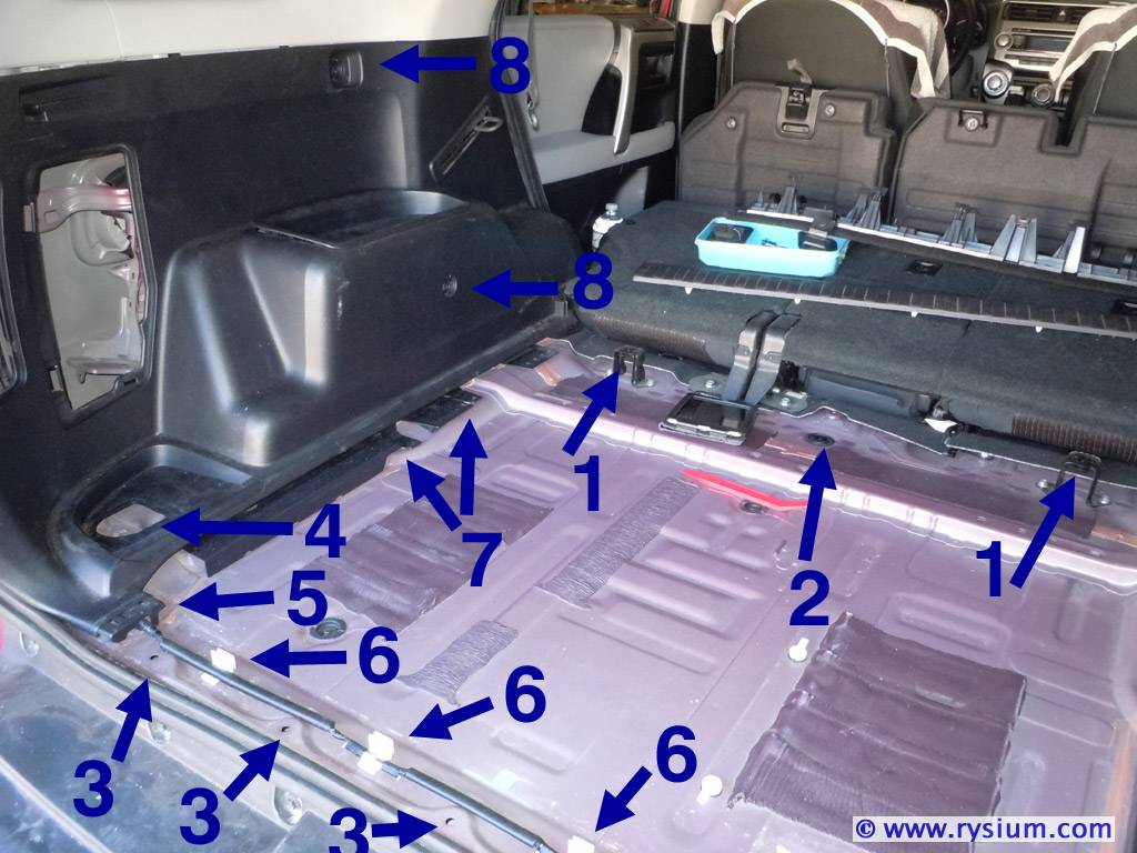 How To Removie The Interior Plastic Cover Over The Left Rear Wheel Page 2 Toyota 4runner Forum Largest 4runner Forum