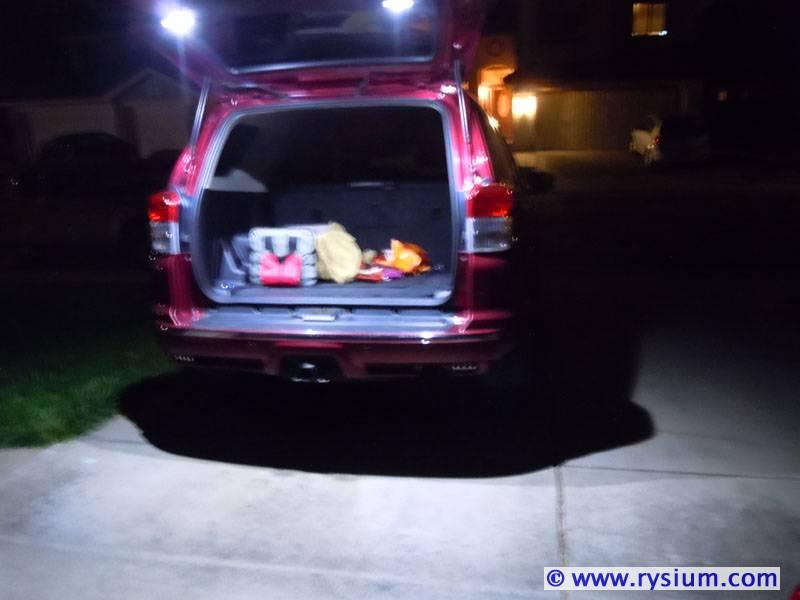 Runner Cargo Light on 1995 Toyota 4runner Headlights